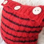 Poduszka w sweterku