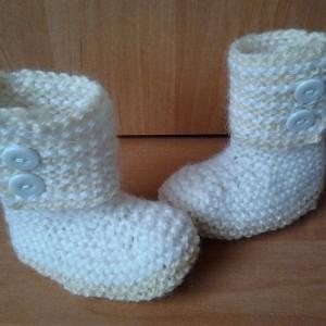 Waloneczki-buciki dla maluszka